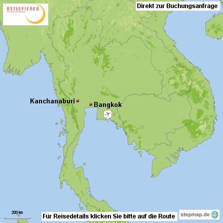 Thailand Rundreise 3 Tage Kanchanaburi