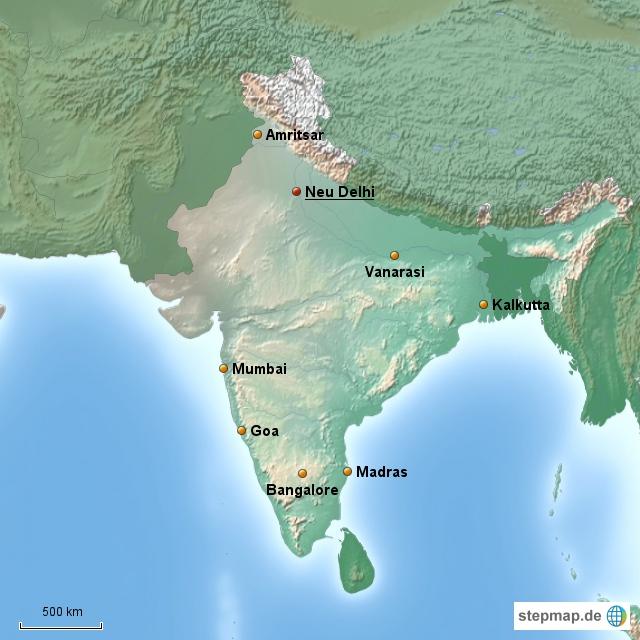 Indien Länderinformationen