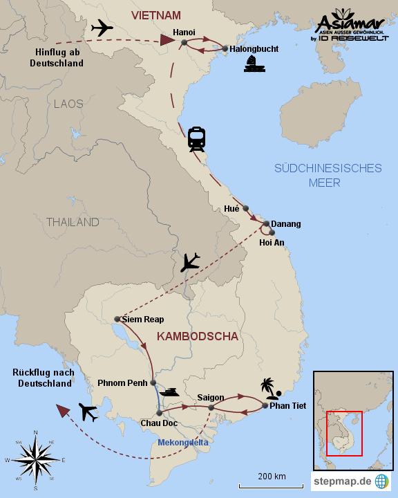 Rundreise Kambodscha | Vietnam Indochinas Lächeln 2017