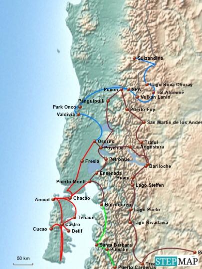 Chile und Südchile