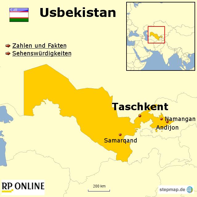 Länder der Welt: Usbekistan
