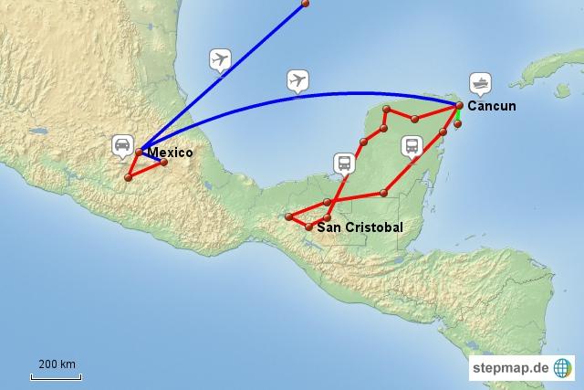 Mexiko-Reise