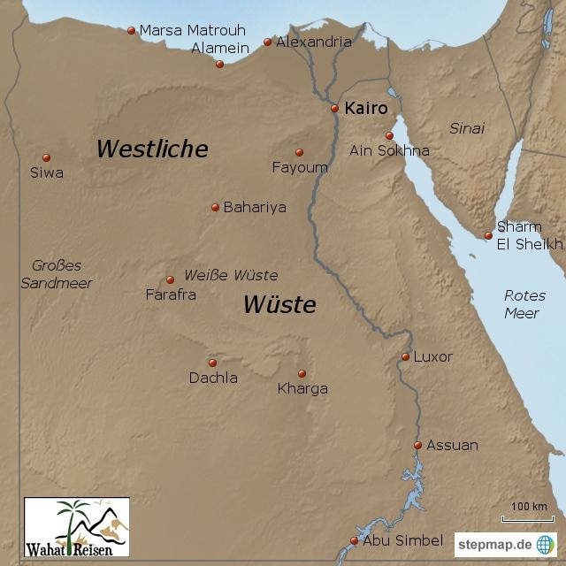 Westliche Wüste Ägypten