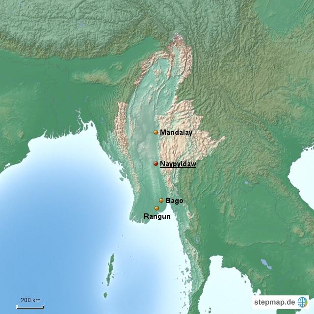 Myanmar Länderinformationen