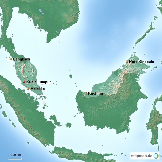 Malaysia Länderinformationen