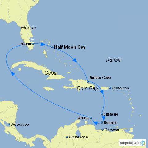 FKK-Kreuzfahrt Karibik-Highlights 2018