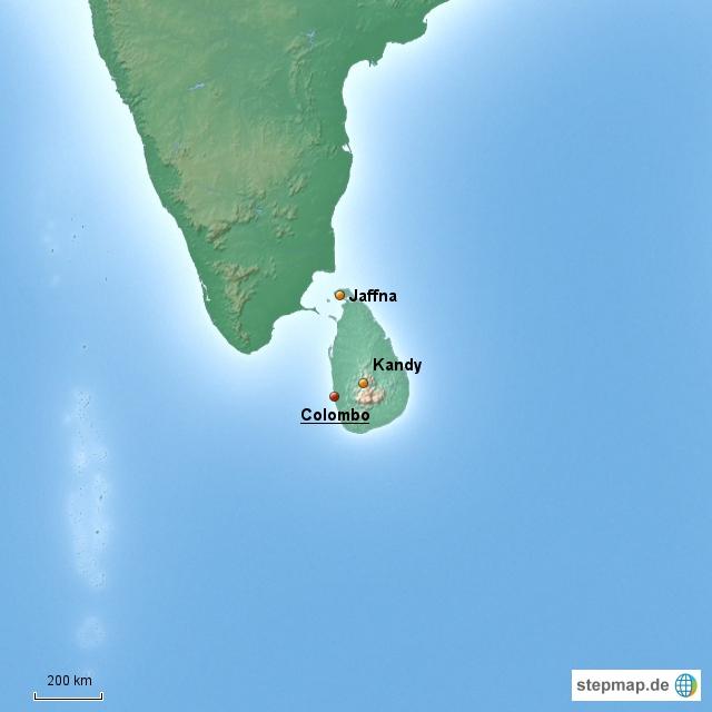 Sri Lanka Länderinformationen