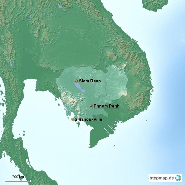 Kambodscha Länderinformationen