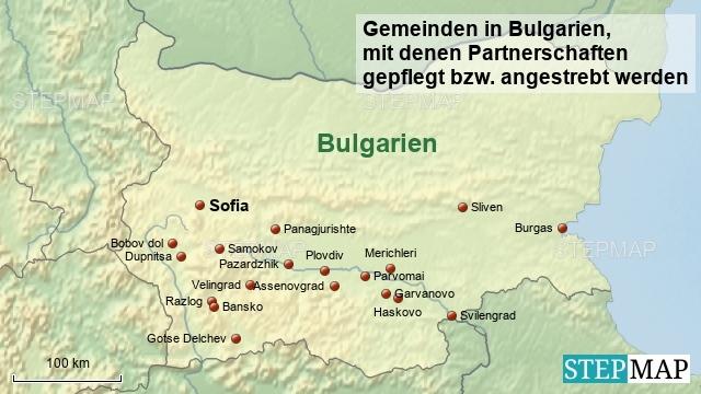 Gemeinden in Bulgarien
