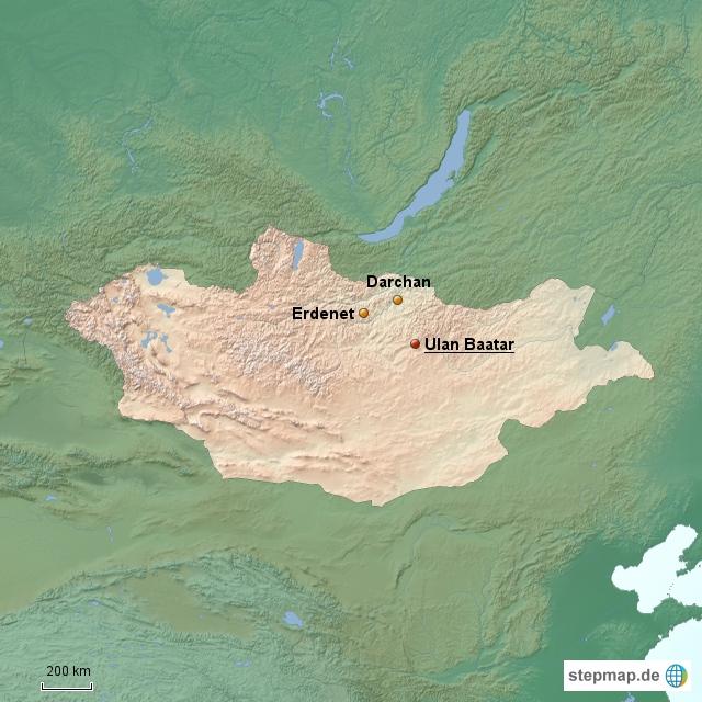 Mongolei Länderinformationen