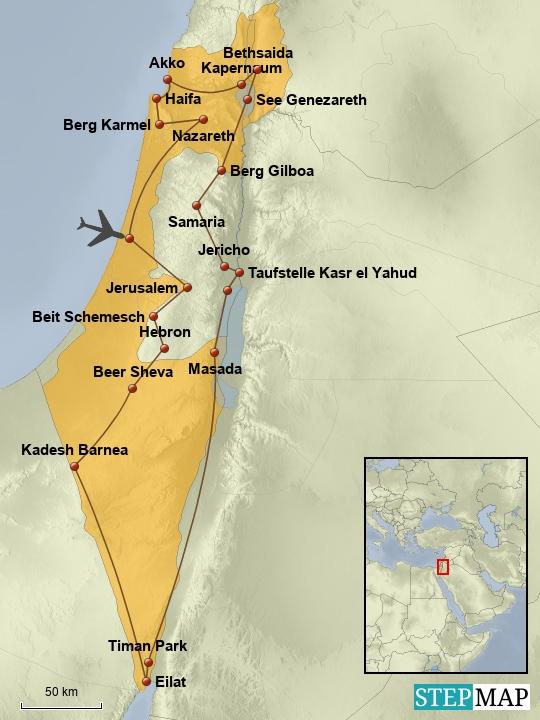 Israel-Jordanien