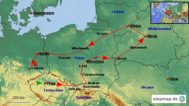 Osteuropa-Radreise 2016