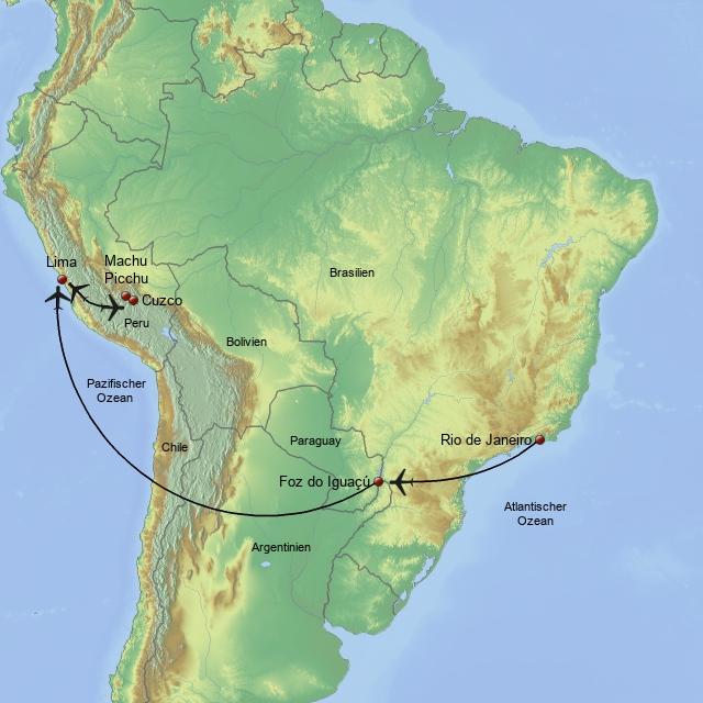 Brasilien & Peru Deluxe