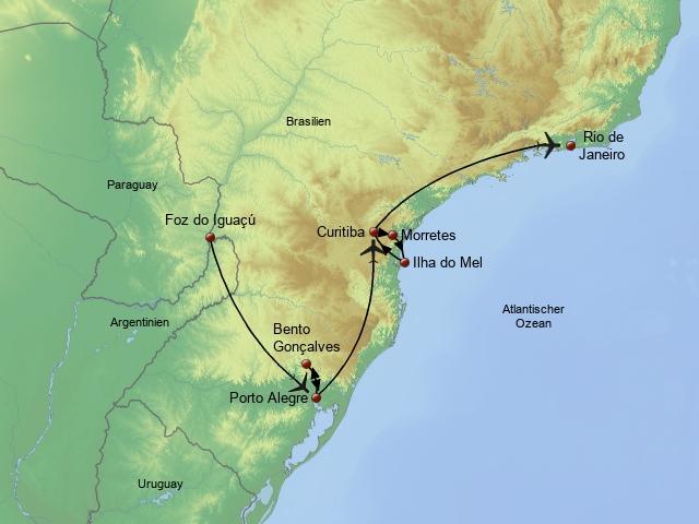 Zauberhaftes Südbrasilien