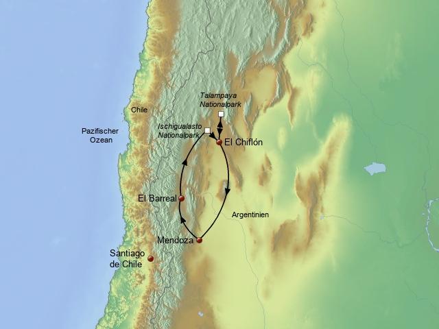 Mendoza und Cuyo