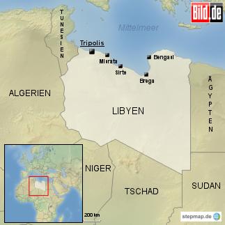 Die Schlacht um Tripolis