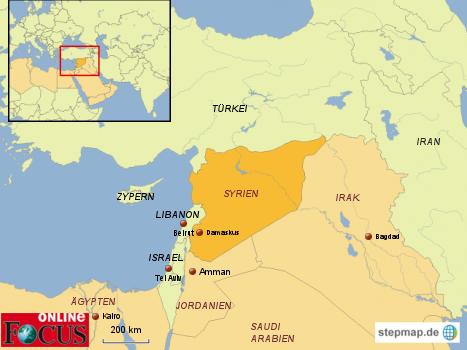 Syrien - Krise in der arabischen elt