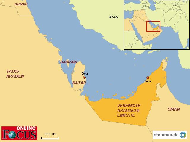 Brief Nach Vereinigte Arabische Emirate : Vereinigte arabische emirate vae focus online