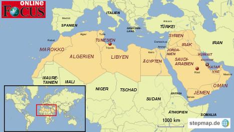 Krise in der arabischen Welt