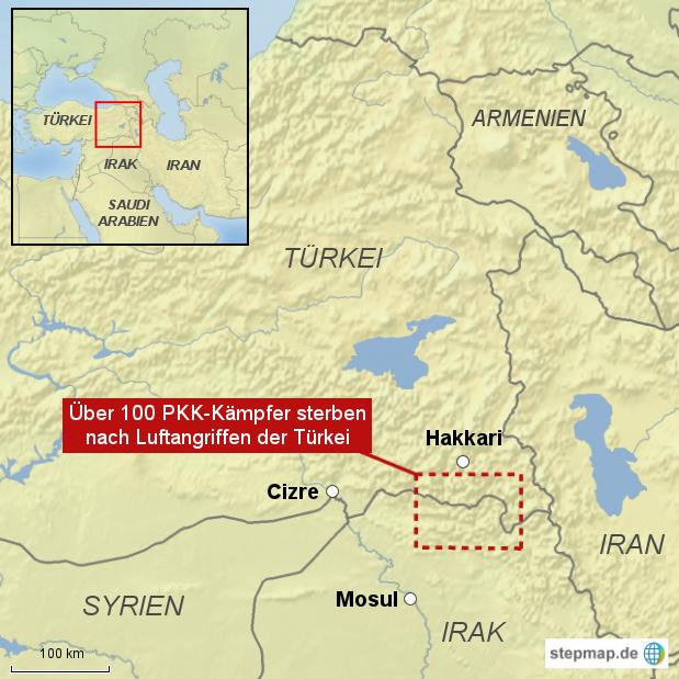 Luftangriff auf PKK