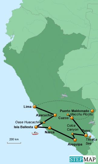 Rundreise Peru 2008
