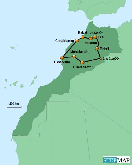 Rundreise Marokko 2010