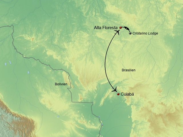 Südliches Amazonien Cristalino
