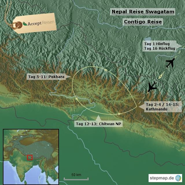 Nepal Reise Swagatam - Contigo Reise
