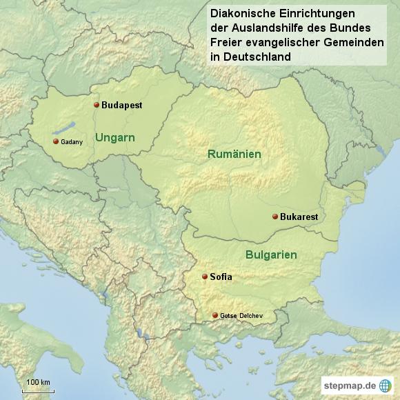 Diakonische Einrichtungen der Auslandshilfe