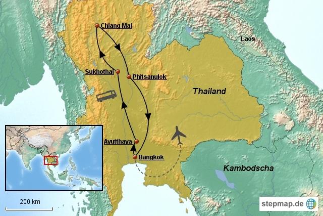 Nord-Thailand-Rundreise