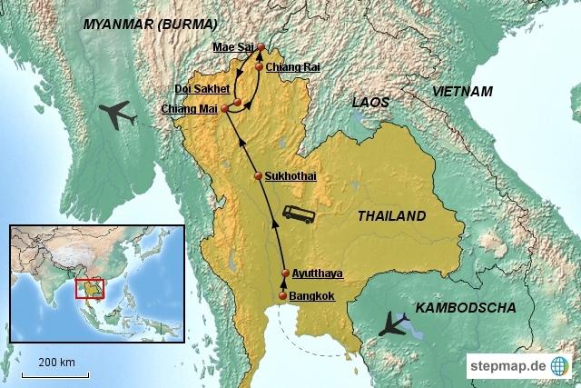 Nordthailand und Goldenes Dreieck Rundreise
