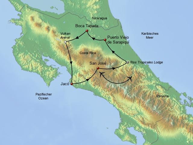 Abenteuer Costa Rica