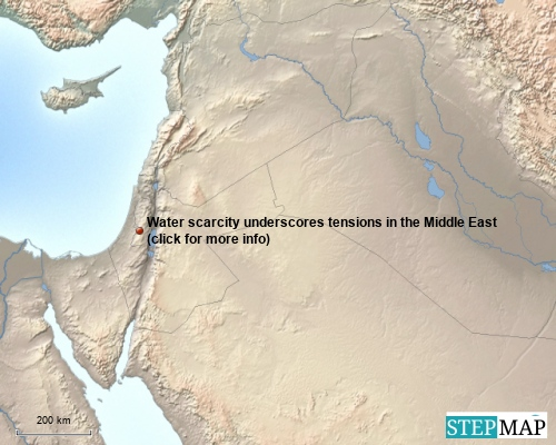 Water scarcity Middle East