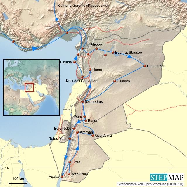 Arabien 2008 Detail