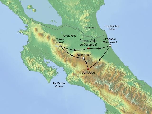 Costa Rica Mexiko
