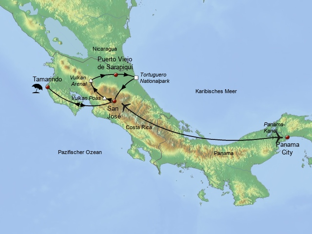 Panama - Costa Rica