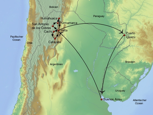 Nördliches Argentinien
