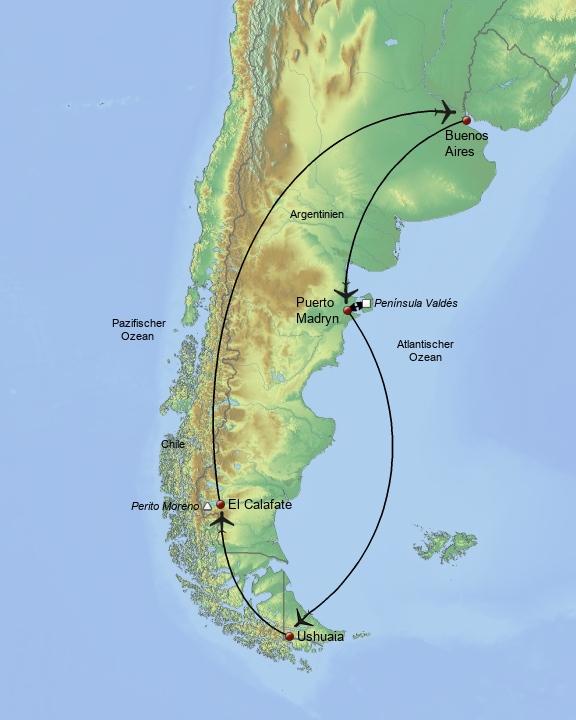 Südliches Argentinien