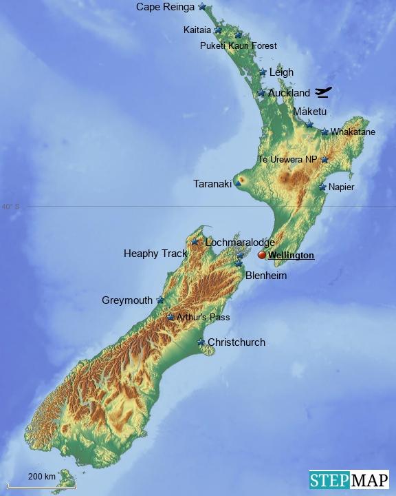 Neuseeland - bis MK2