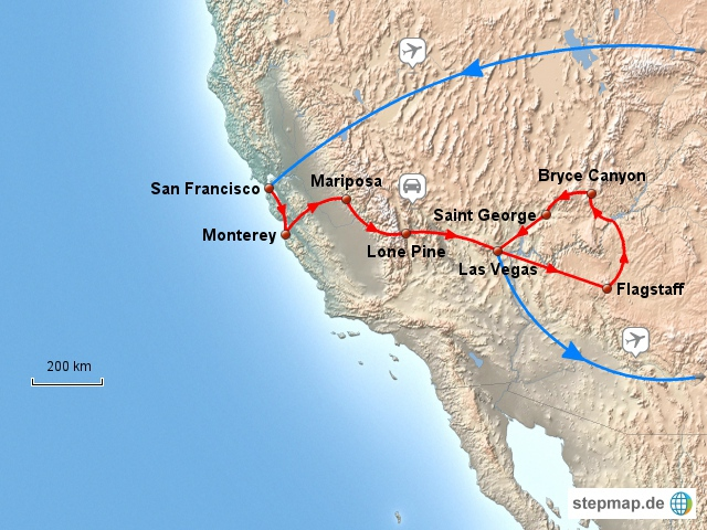 21 Tage USA Südwesten