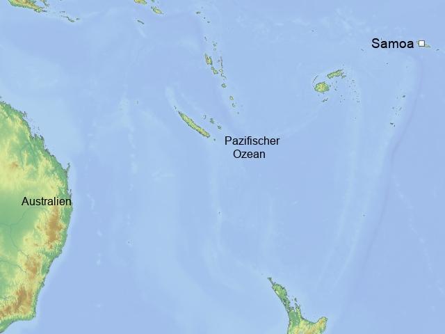 Schatzinsel im Herzen des Pazifiks Übersicht