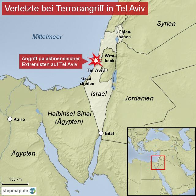 Terrorangriff auf Tel Aviv