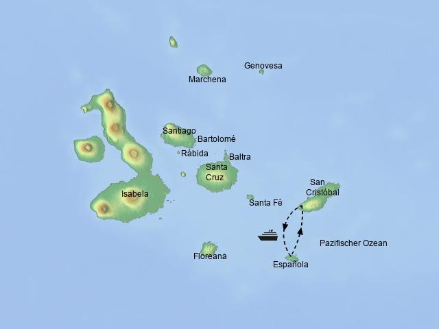 Südost- Galapagos