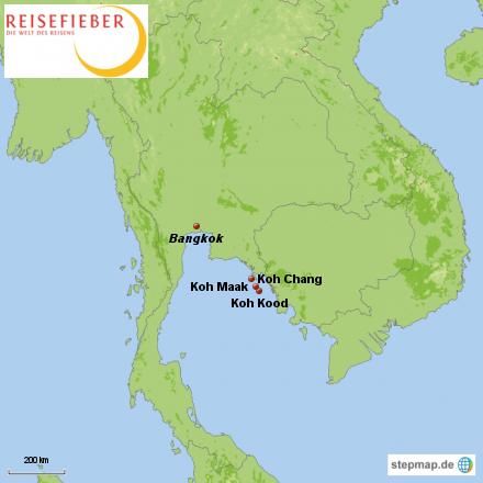 Koh Chang Nationalpark Insel Hopping