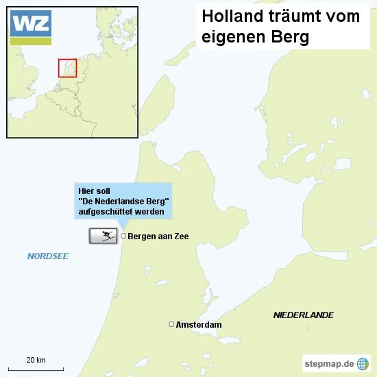 Holland träumt vom eigenen 2000-Meter-Berg