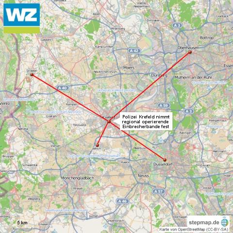 Polizei Krefeld nimmt regionale Einbrecherbande fest