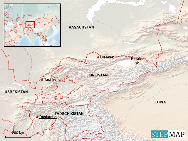 Kirgistan - KARAKOL