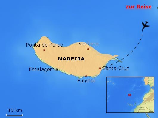 PTH01 Estalagem Ponta do Sol Madeira Portugal Karte