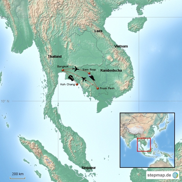 Kambodscha und Thailand 2006