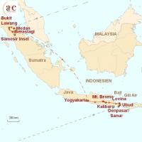 Routenkarte zur Reise Drei Inseln, ein Abenteuer